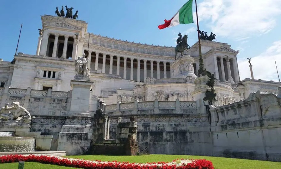 Where to go on holiday in September - shows Roman monument