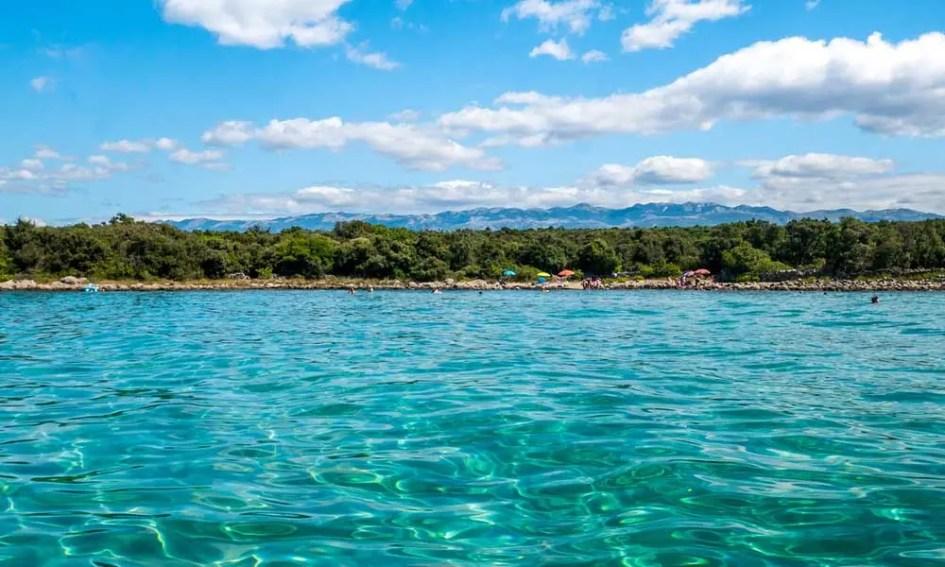 Things to do in Novalja - shows Novalja beach from afar