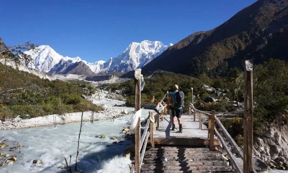 Adventure holidays in September - Shows Nepal mountains