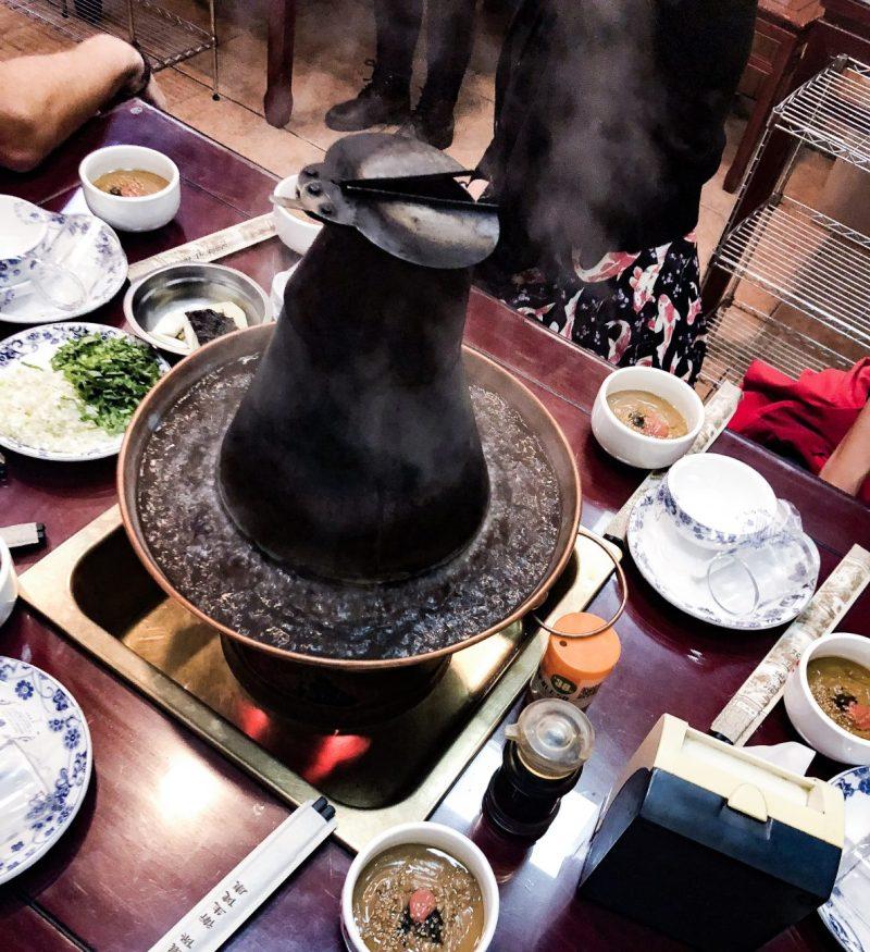 Chinese Hotpot Dinner