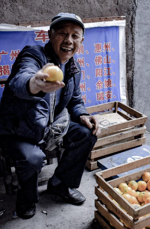 Zhangjiajie Street Vendor - China