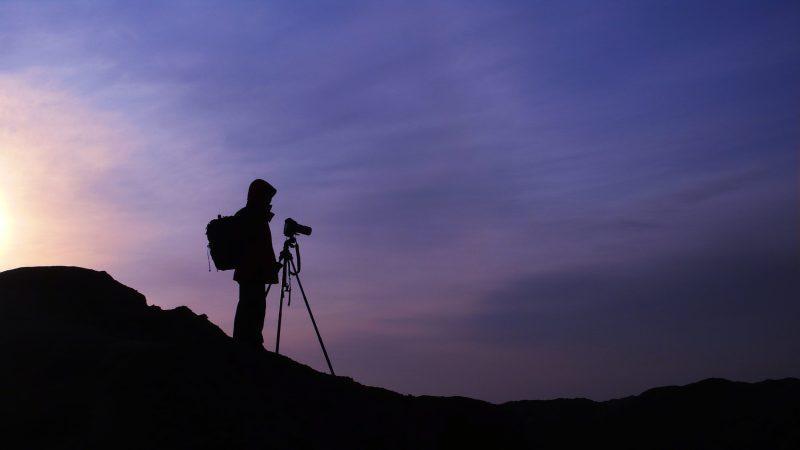 Taking Photographs at Sunrise