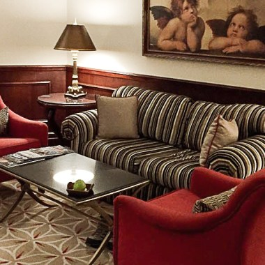 JW Marriott Cairo - Sitting Area