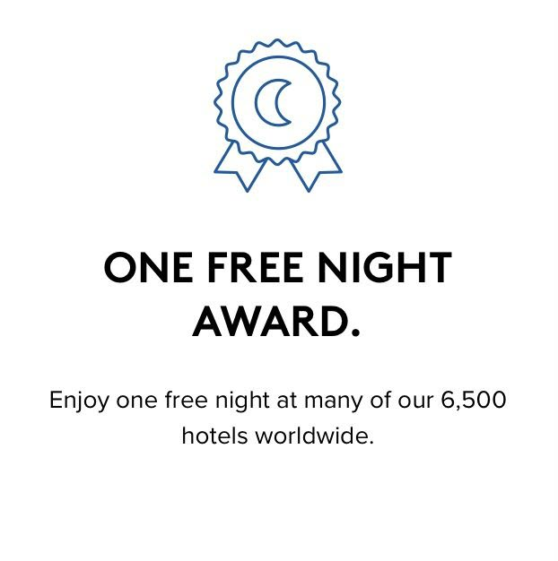 Marriott Annual Choice Benefit One Free Night Award