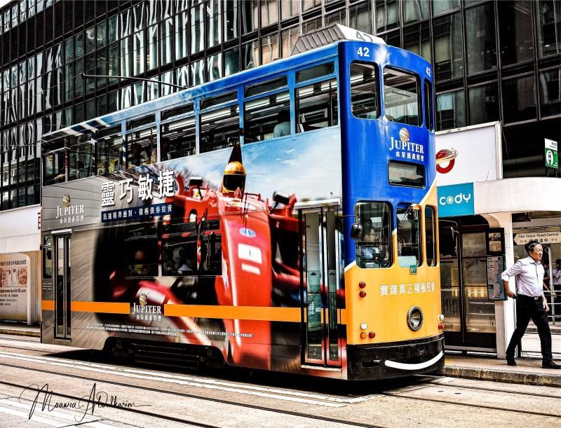 Hong Kong Double-deck Tram
