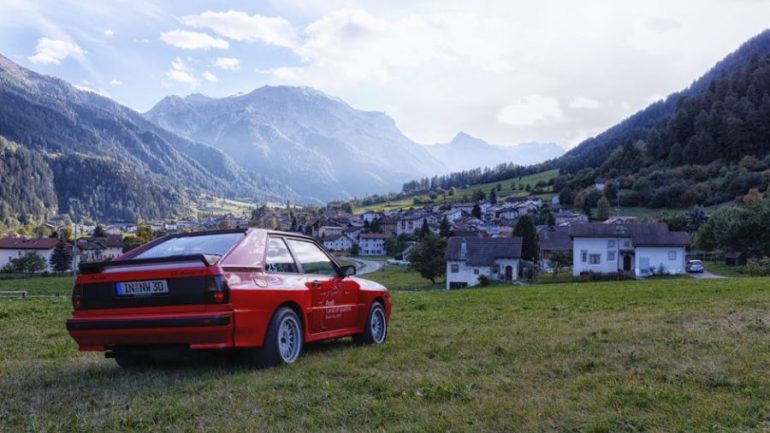 Audi Land of quattro Alpen Tour 2013 - Audi Sport quattro