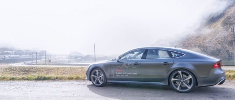 Audi Land of quattro Alpen Tour 2013 - Audi RS 7 Sportback