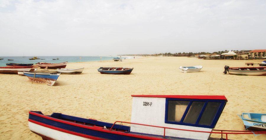 Kapverdische Inseln | Sal - Santa Maria Hafen Strand