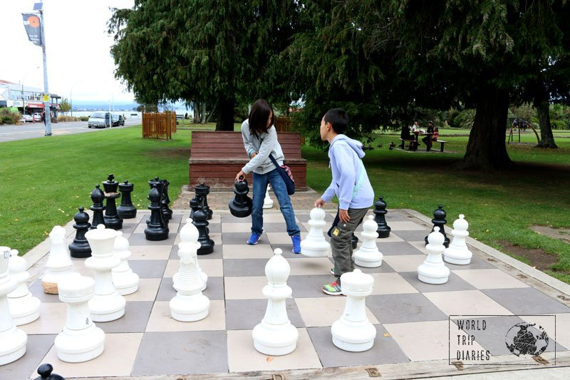 Giant Chess, Taupo, NZ