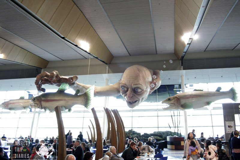 Gollum from The Lord of the Rings and The Hobbit, at Wellington International Museum