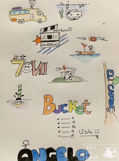 angelo's bucket list