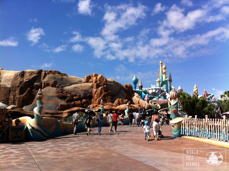 mermaid lagoon, disney sea