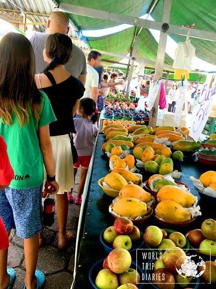 street market brazil