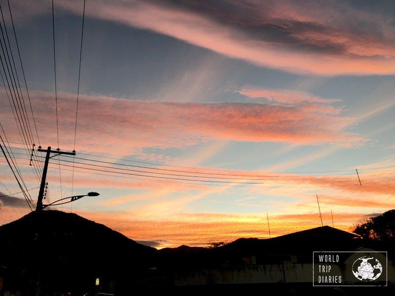 sunset peruibe