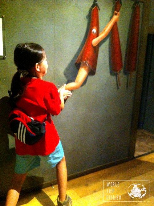 tokyo trick art museum umbrela