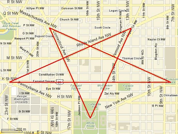 Satanic Symbols In Washington D.C.