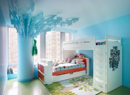 interior-colorful-interior-inspiration-kids-room-with-blue-color-with-white-furniture-multifunction