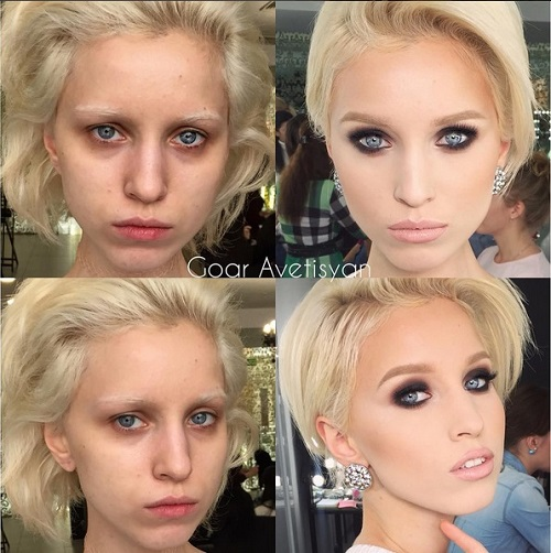 Never Trust A Woman In Make-Up! The Reason Is These 28 Unbelievable Photos. (10)