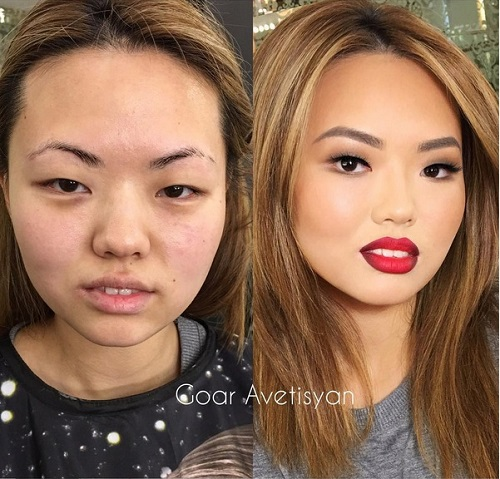 Never Trust A Woman In Make-Up! The Reason Is These 28 Unbelievable Photos. (22)
