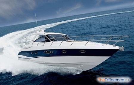 الاختلافات بين قارب بمحرك وقارب ما هو الفرق بين اليخت والقارب