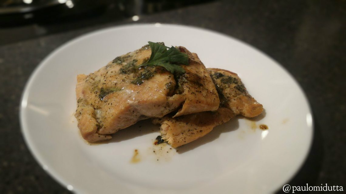 Easy Oven-baked Salmon Recipe 1
