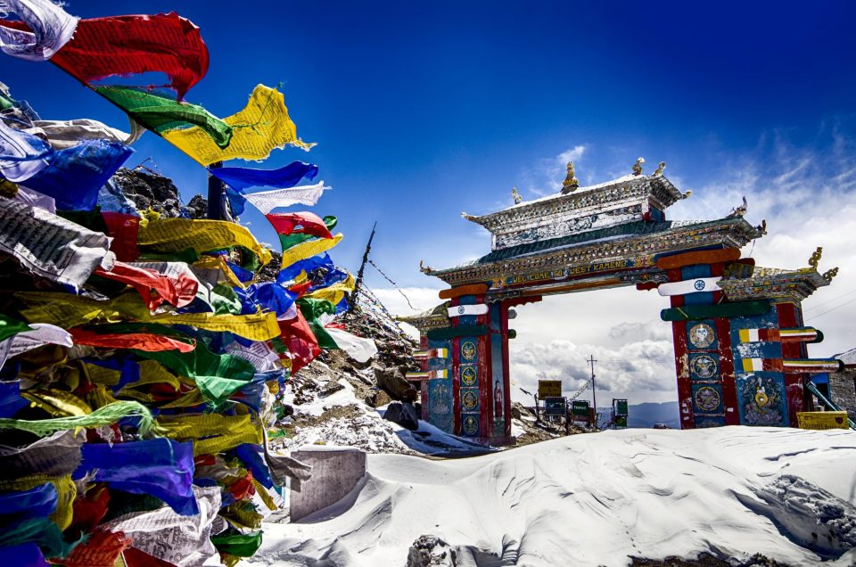 Image of the less traveled hill station in India Tawang_Gate