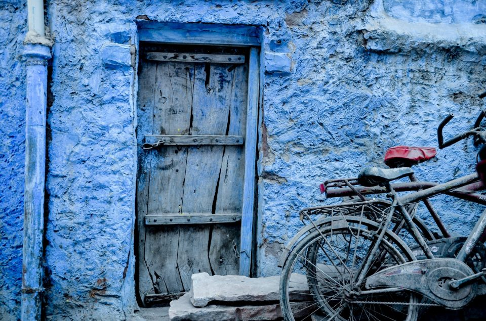 Image of the blue city of Rajasthan, Jodhpur
