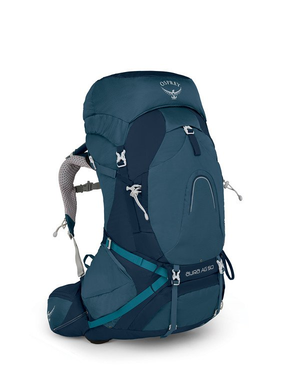 OSPREY AURA 50L travel backpack for women