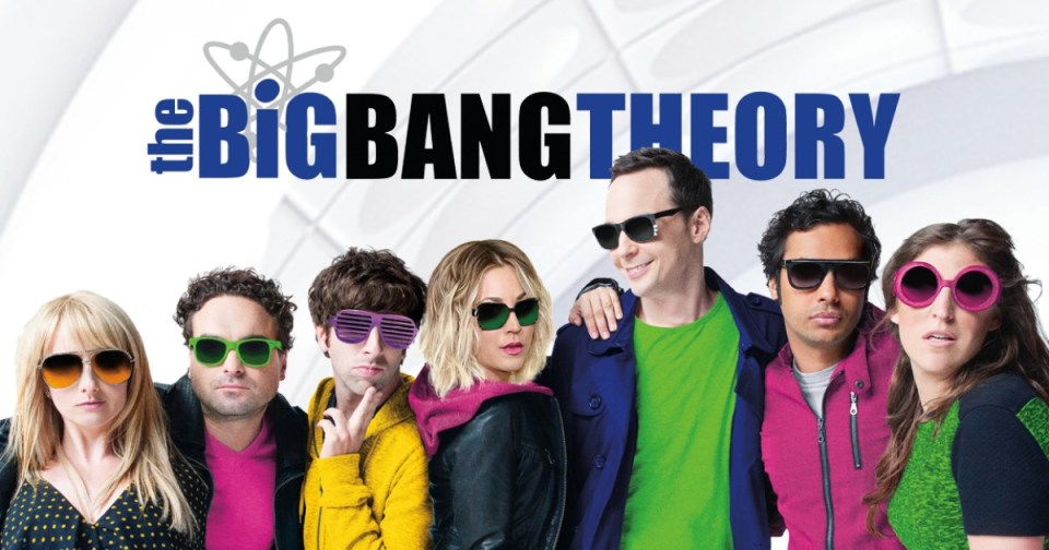 "Image of the American TV show ""The Big Bang Theory"""