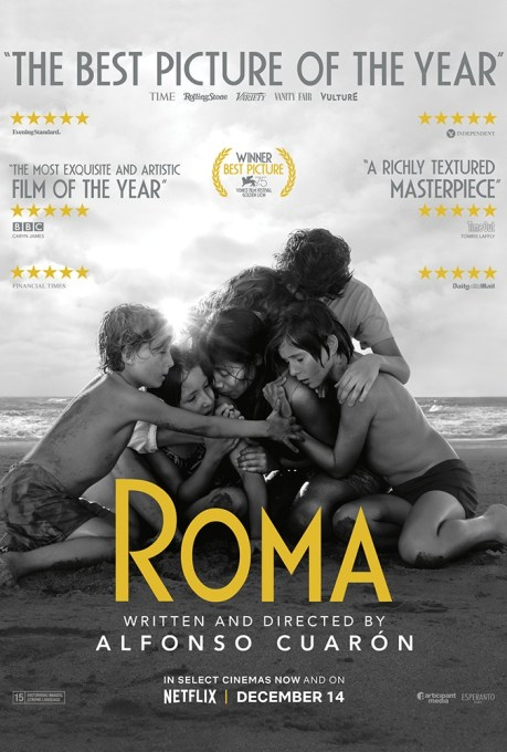 Poster Image of Netflix's Roma