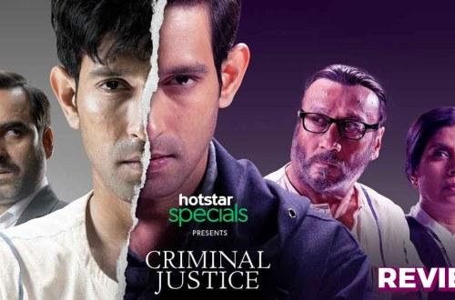 Image of Hotstar's Criminal Justice