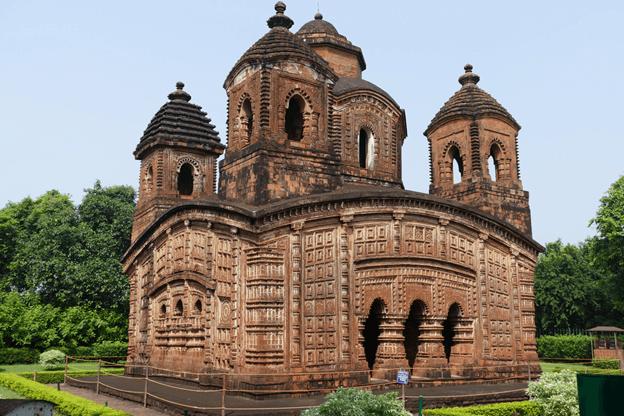 Terracota Temple of Bishnupur in West Bengal