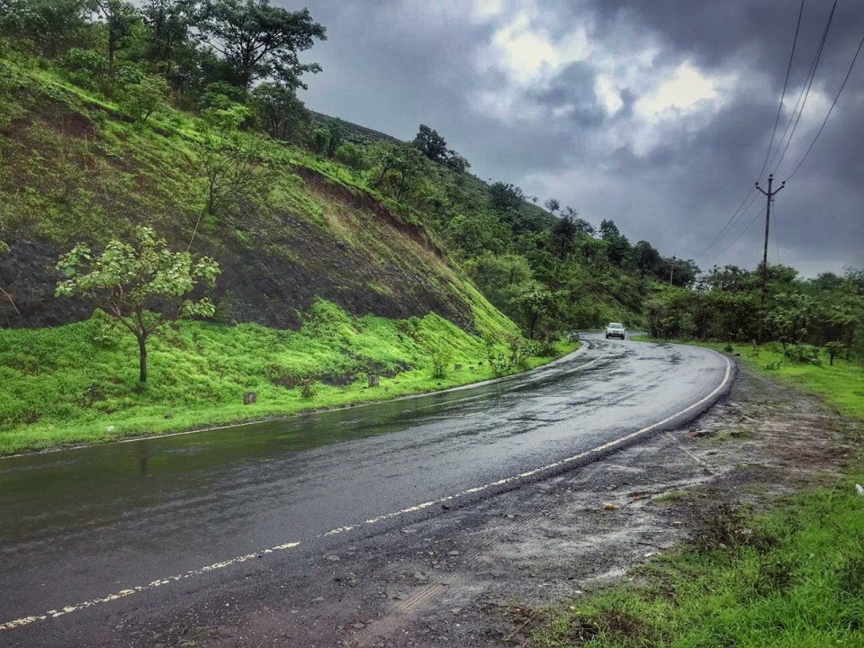 Lavasa road trip during monsoon