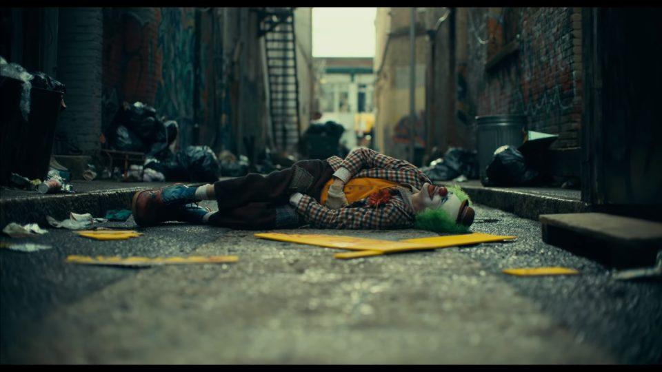 A scene from Joker movie