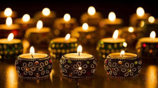 decorative candles for Diwali gift