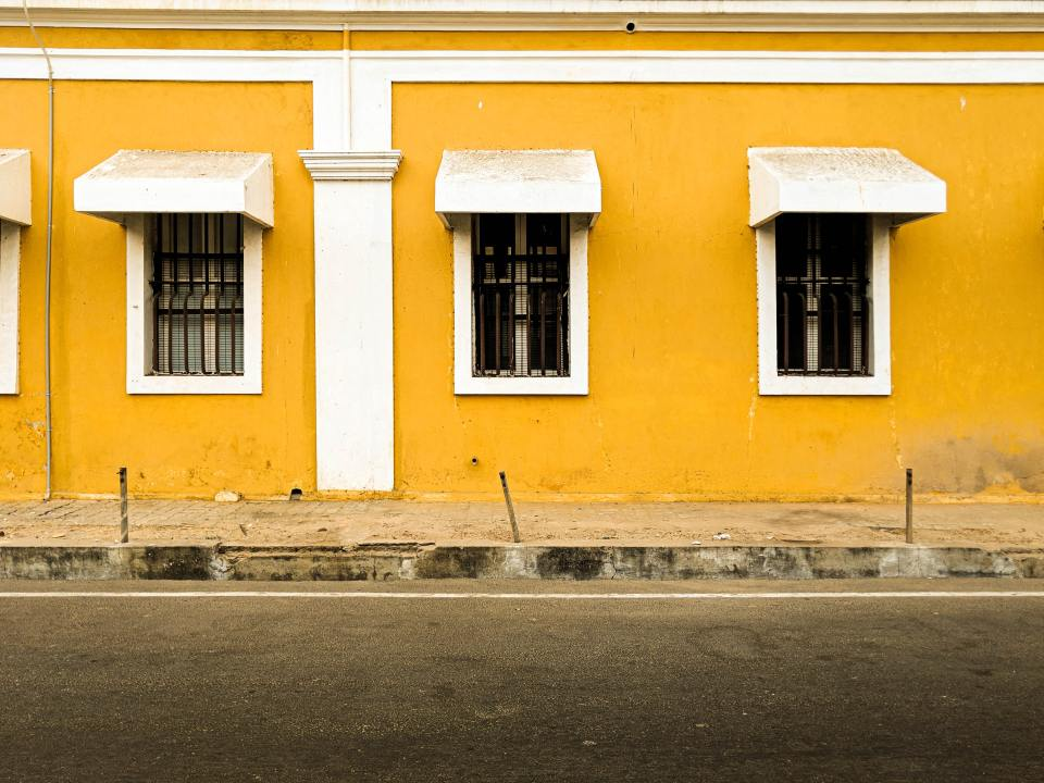 French Quater in Pondicherry