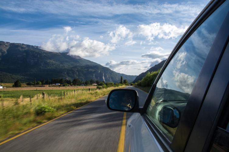 Weekend road drive