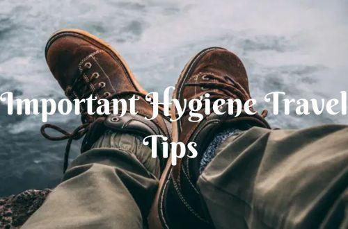 14 Important Hygiene Travel Tips