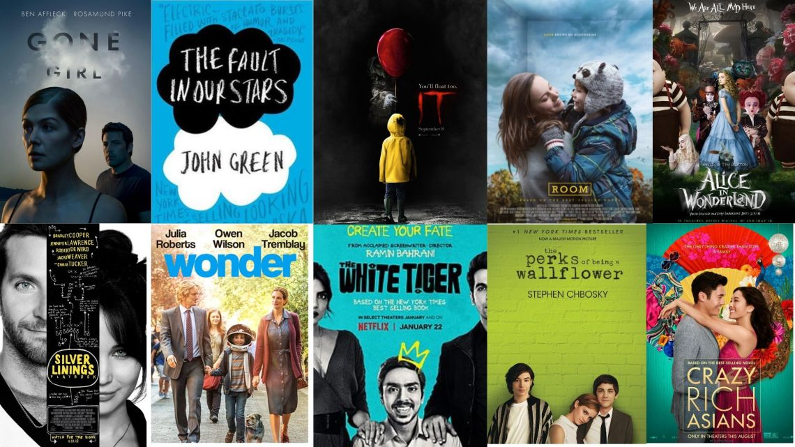 best movies based on books