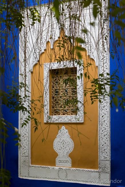 Jardin Majorelle in Marrakesh, Morocco