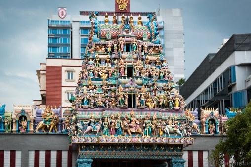 Hindi temple