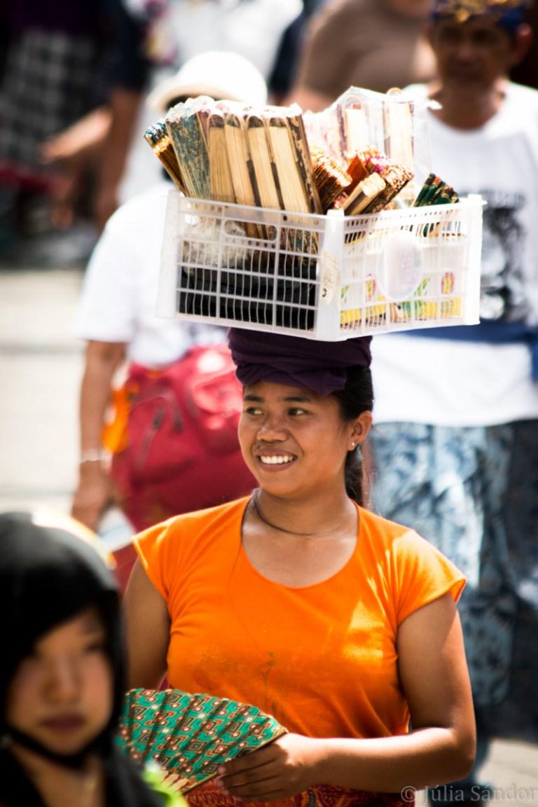 balinese street vendor