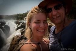 Epupa Falls selfie