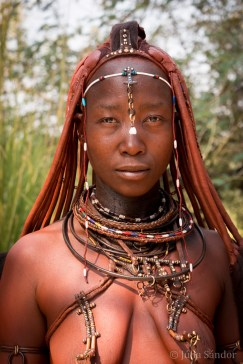 Beautiful Himba woman