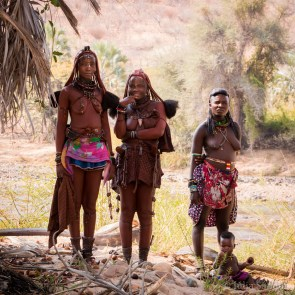 Himba women in Angola