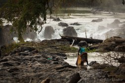 Special laundry location - at the Epupa Falls