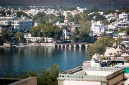 Lake view in Udaipur
