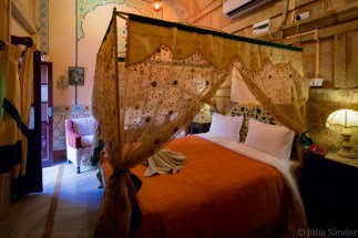 Our accommodation in Jaisalmer was in a renovated haveli.