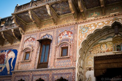 The Nadine Le Prince Haveli in Fatehpur was beautifully restored.