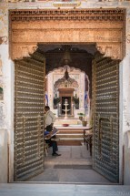 Main entrance to the Nadine Le Prince haveli